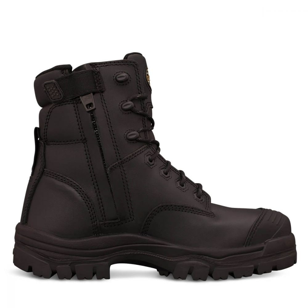 2a2f595f642 150mm Black Zip Sided Boot