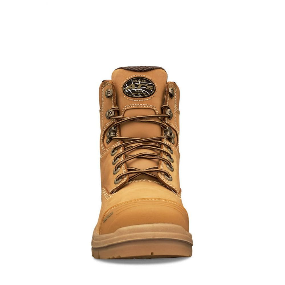 75264e37a99 150mm Wheat Lace Up Boot | AT 55 Series | Oliver Footwear