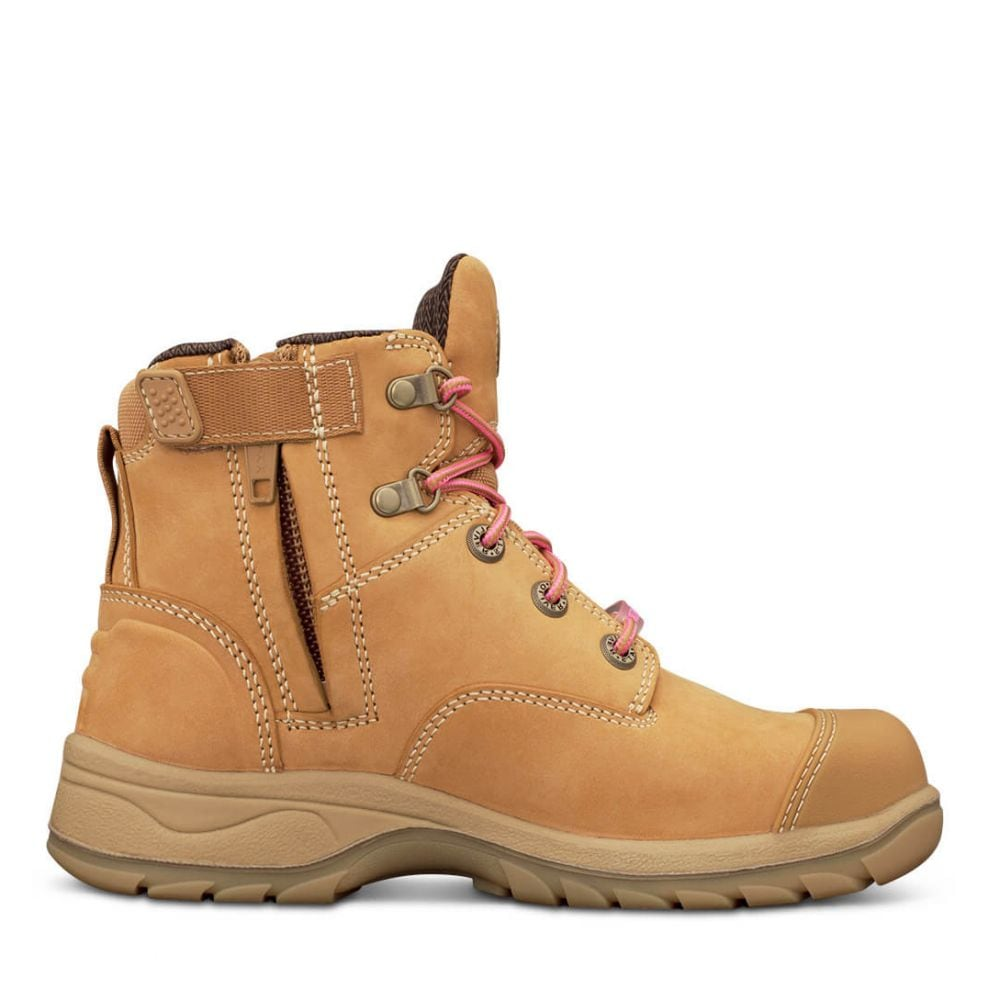 703d5049cca Women s Wheat Zip Sided Boot