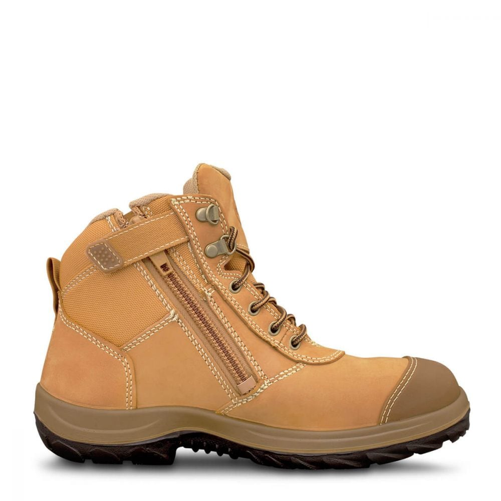 9c657a80b83 Wheat Zip Sided Ankle Boot | WB 34 Series | Oliver Footwear