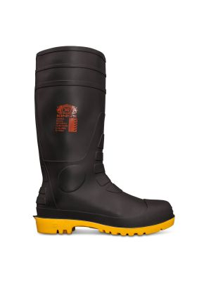 King's Black Safety Gumboot With Penetration Protection