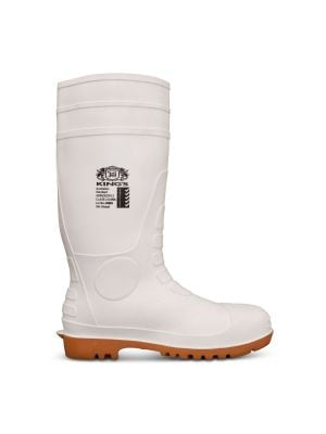 King's White Safety Gumboot