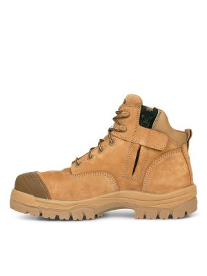 130mm Stone Zip Sided Hiker Boot