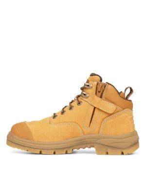 130mm Wheat Zip Sided Hiker Boot