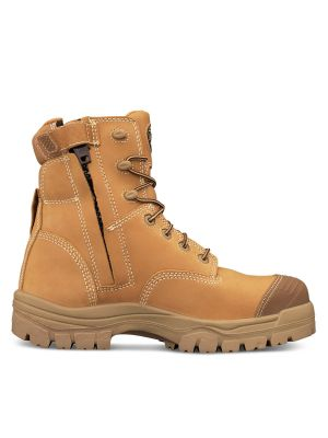 150mm Wheat Zip Sided Boot