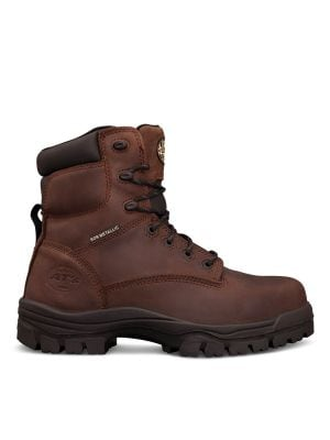 150mm Brown Lace Up Boot