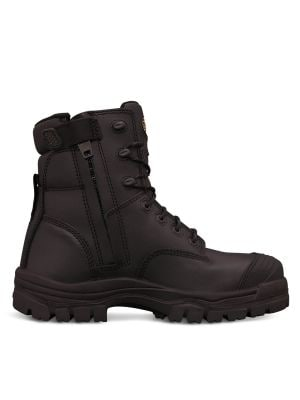 150mm Black Zip Sided Boot