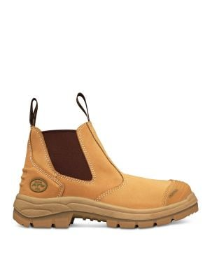 Wheat Elastic Sided Boot