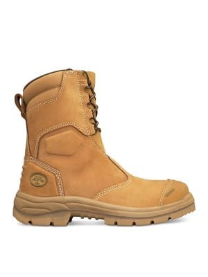 200mm Hi-Leg Wheat Zip Sided Boot