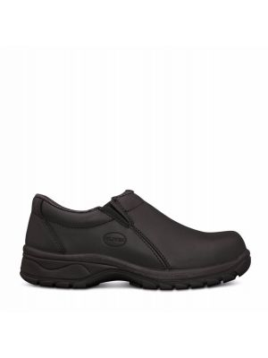 Women's Black Slip On Shoe