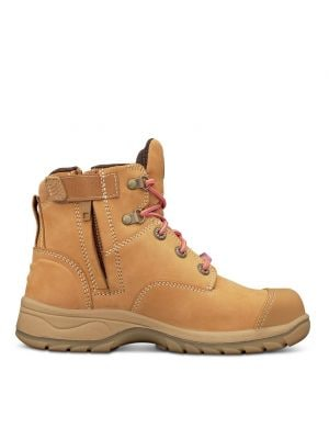 Women's Wheat Zip Sided Boot