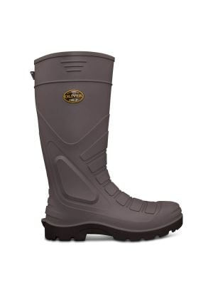 Grey Safety Gumboot