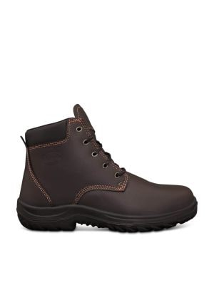 Claret Lace Up Boot