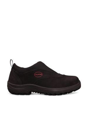 Black Slip On Sports Shoe