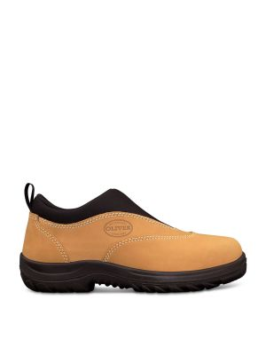 Wheat Slip On Sports Shoe
