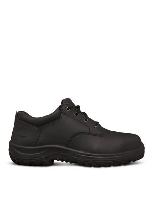 Black Lace Up Derby Shoe